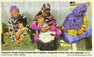 Peminta Sedekah Dapat RM200 Sehari