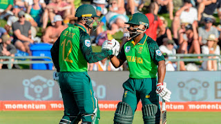 Quinton de Kock 107 - Temba Bavuma 98 - South Africa vs England 1st ODI 2020 Highlights