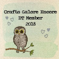 Proud to design for Crafts Galore Encore