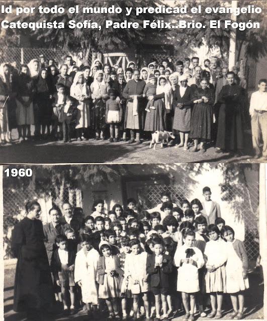 Iglesia católica campaña de evangelización en Melo 1960