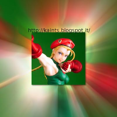 Cammy per la linea Street Fighter Bishoujo della Kotobukiya