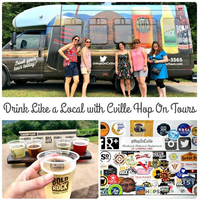 Offering guided winery, brewery, cidery, & distillery tours, Cville Hop On Tours takes the guesswork out of planning your next boozy tour of the Charlottesville, Virginia area.