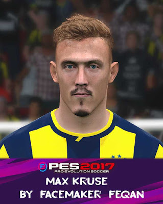 Max Kruse Face Pes 2017 by Feqan