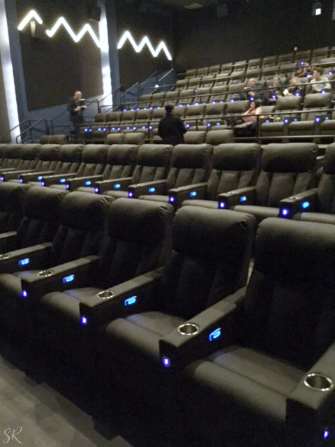 leather theater seats at Willow Creek theater