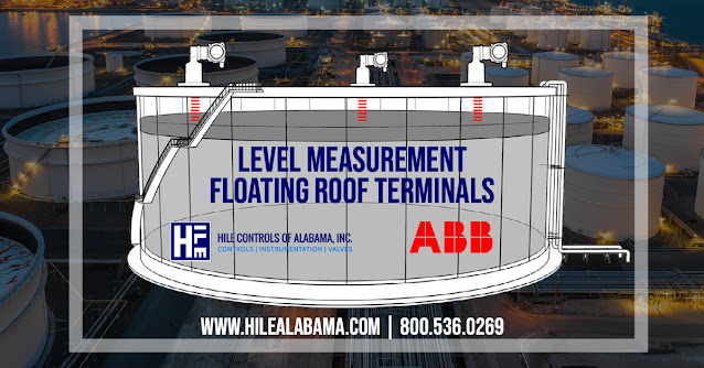Level measurement Floating Roof Terminals
