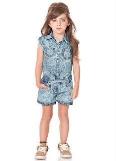 Jeans de grifes infantil para revender