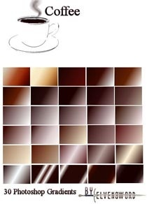 Coffe Ps Gradients Photoshop Styles