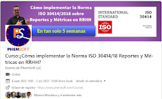 Curso:¿Cómo implementar la Norma ISO 30414/18 Reportes y Métricas en RRHH?