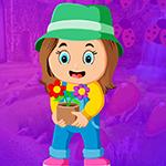 Play Games4King Flowerpot Girl…