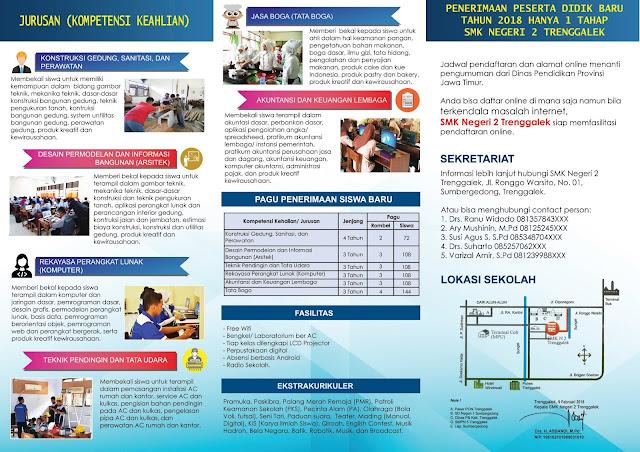File .PSD Brosur PPDB Online SMK
