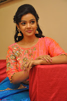 Nithya Shetty in Orange Choli at Kalamandir Foundation 7th anniversary Celebrations ~  Actress Galleries 124.JPG