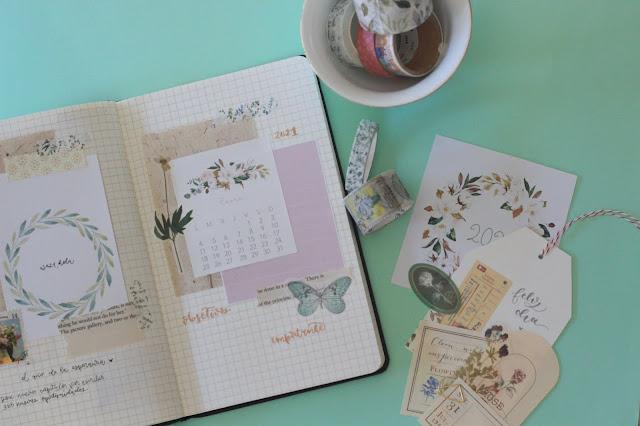 Bullet journal: ideas para dar forma a las portadas mensuales