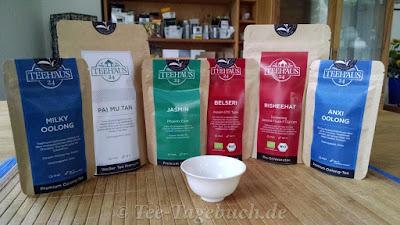 Teeproben von Teehaus24