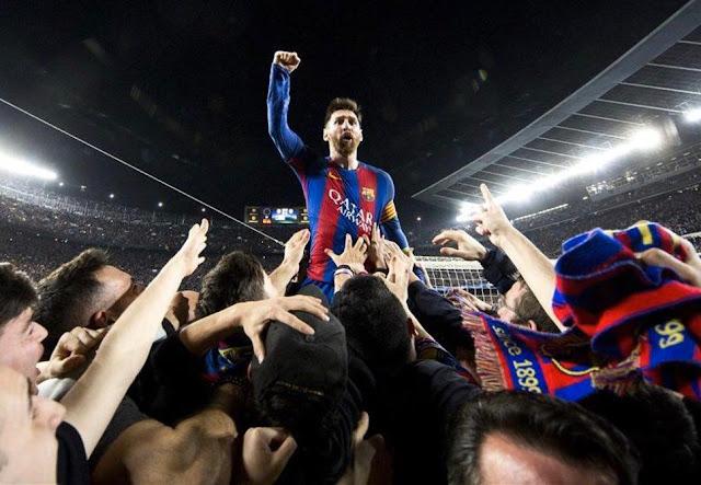 ميسي يقرر البقاء في برشلونة بعد عدة أيام من التوتر داخل البارصا✍️👇👇👇