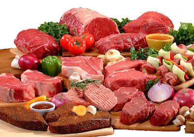 Thịt Đỏ một loại thực phẩm giàu chất sắt