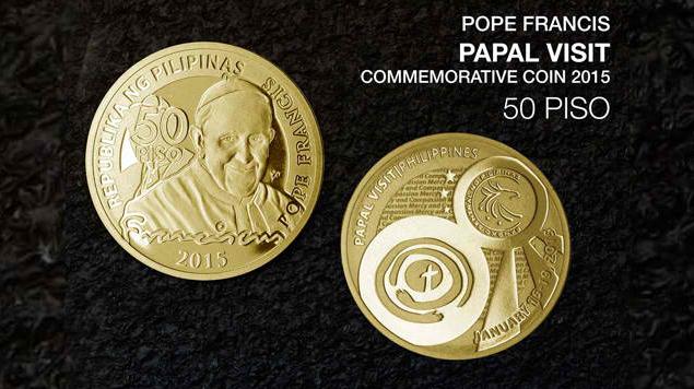 Bangko Sentral Ng Pilipinas BSP Issues Pope Francis