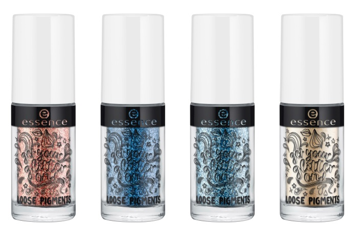 essence get your glitter on loose pigments