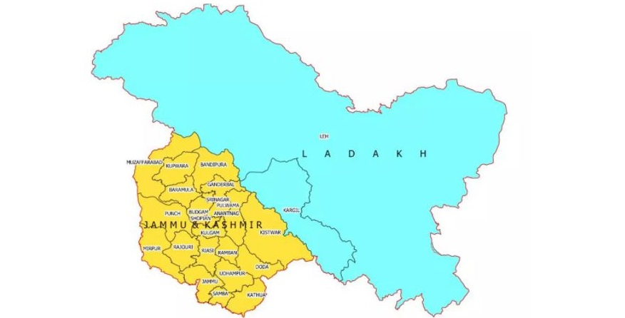 India strongly objected to wrong map of jammu kashmir and ladkh in Saudi Note