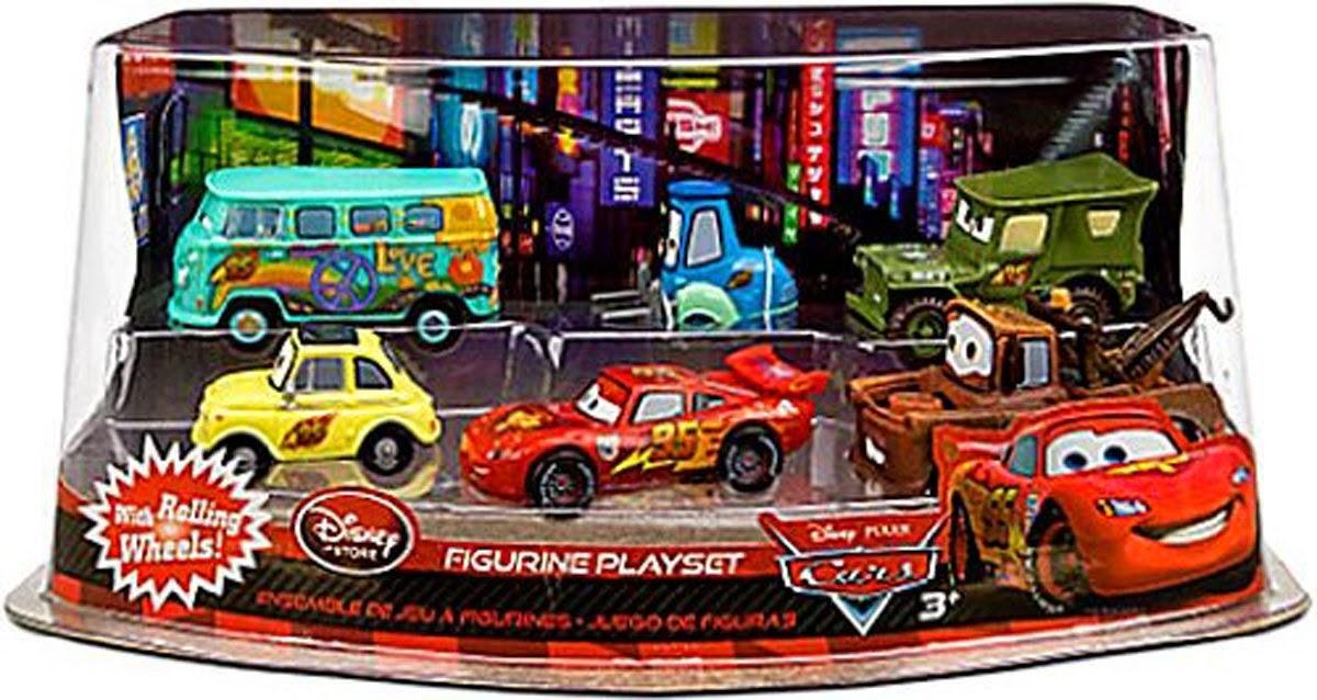 Red And Guido Pixar Cars Movie 1 55 Die Cast Story Tellers
