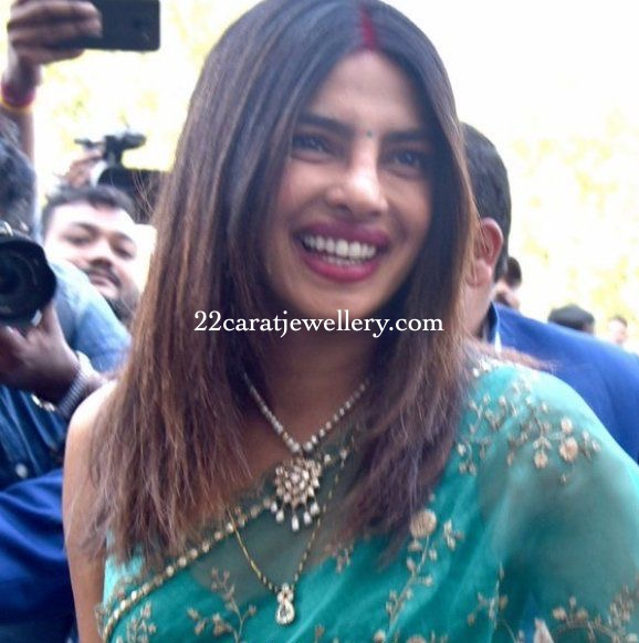 Priyanka Chopra Diamond Mangalsutra