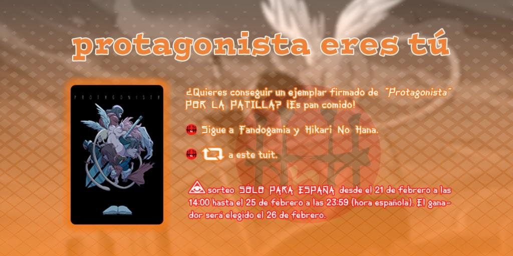 Sorteo Protagonista (DayoScript) - Fandogamia