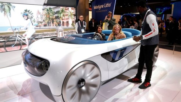 Discover Concept cars of the future shown at CES 2020 tech show in Las Vegas