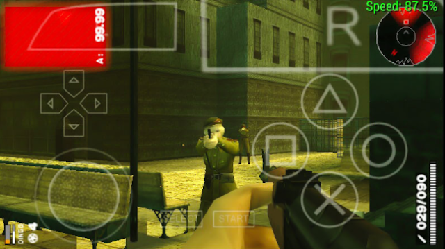 Metal Gear Solid Portable Ops PPSSPP