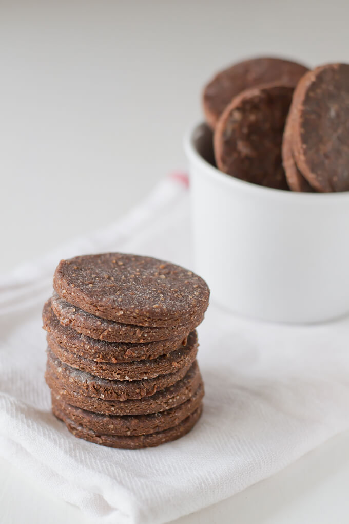 Gluten-free Cocoa Cookies via danceofstoves.com