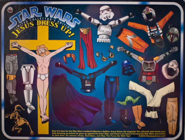 Star Wars Jesus Dress Up Limited Collector's Edition