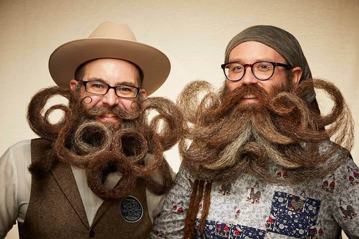 Crazy and creative Beard and Mustache Championship 2019