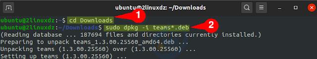 تثبيت Microsoft Teams على Ubuntu