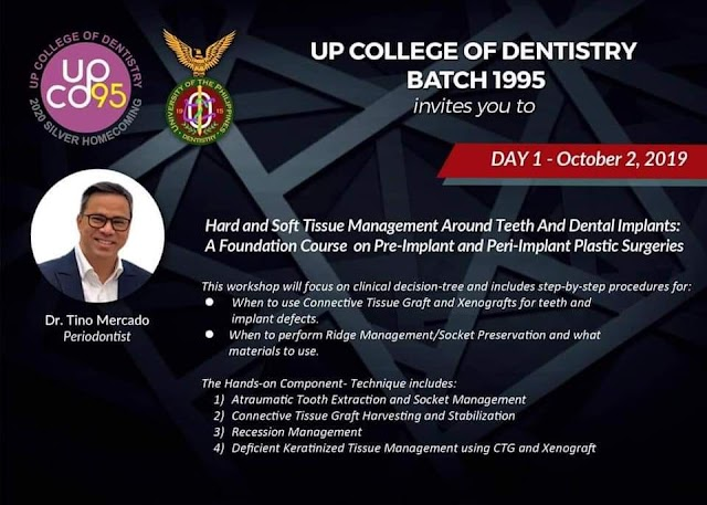 (Photos) UPCD Training Workshop: Hard and Soft Tissue Management Around Teeth And Dental Implants: