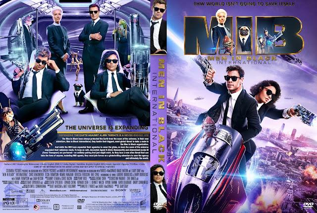 Men in Black: International DVD Cover