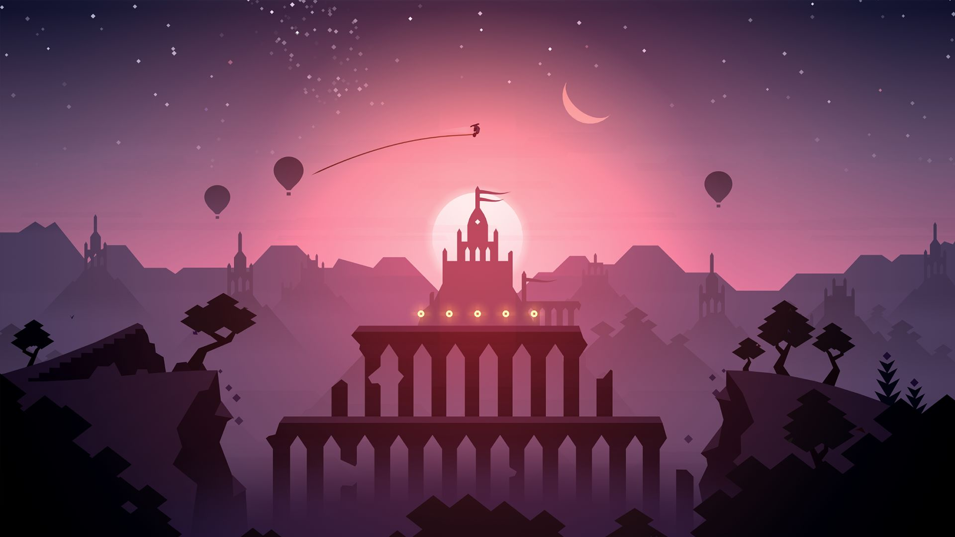 ALTO'S ODYSSEY: THE LOST CITY IS AVAILABLE NOW ON APPLE ARCADE