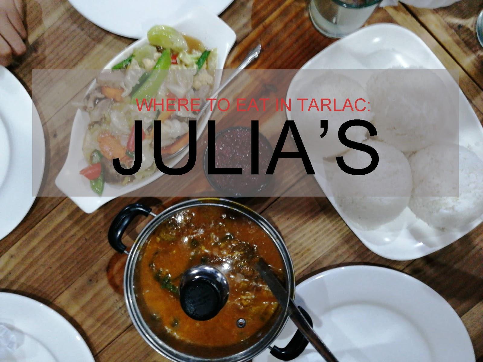 restaurants in tarlac
