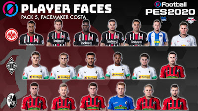 PES 2020 Facepack V5 by Costa