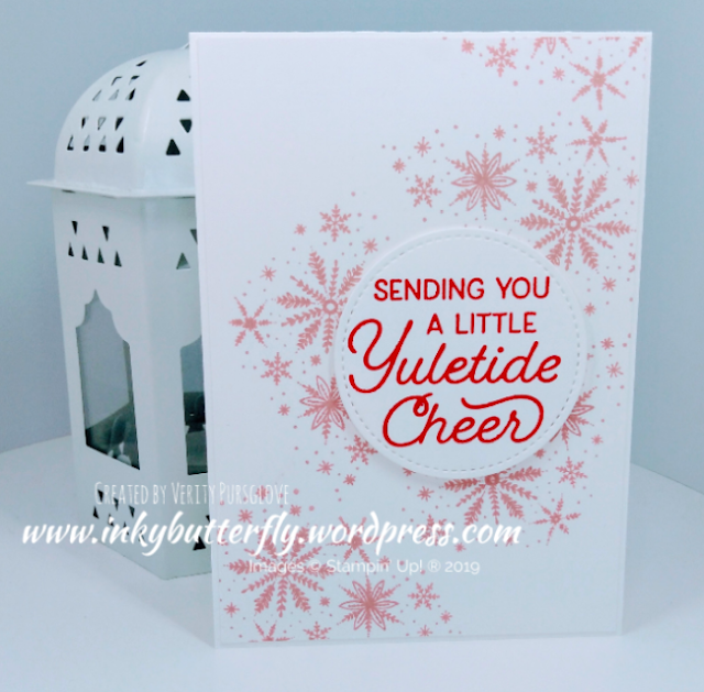 Nigezza Creates with Stampin' Up! & Inkybutterfly & Frosted Foliage