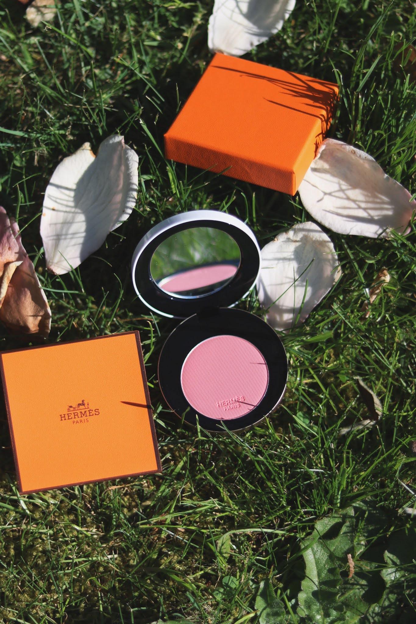 Rose Hermès Silk blush powder: A quick review