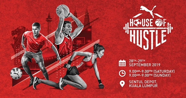 PUMA House of Hustle, Puma, Puma Malaysia, House Of Hustle, Fitness, Animal Flow, Rhythmic Boxing, High Intensity Interval Training, futsal, basketball tournaments