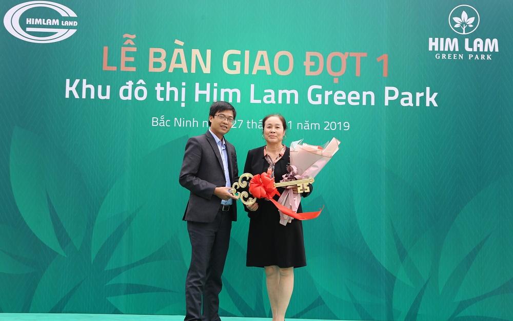 Hình ảnh thực tế lễ bàn giao nhà đợt 1 tại Him Lam Green Park