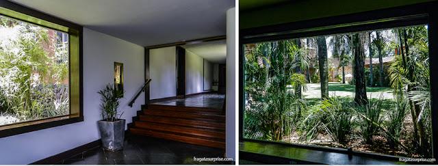 Área interna do Hotel San Martin Resort & Spa, em Foz do Iguaçu