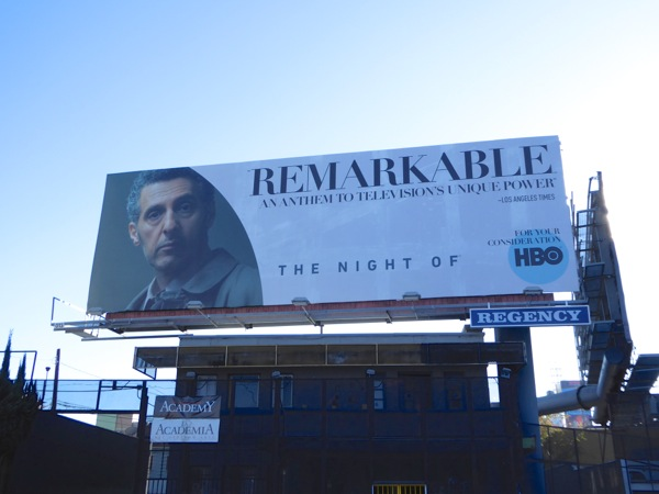 Night Of Remarkable consideration billboard