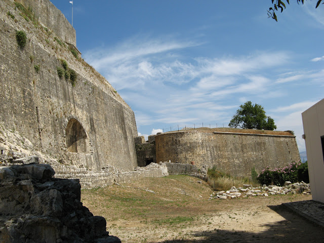 New Fortress. Kerkira. Corfu. Greece. Ionian Islands. Новая крепость. Керкира. Корфу. Греция. Ионические острова.