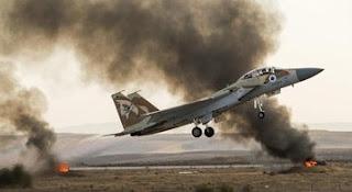 Jet Tempur Israel Serang Hamas Usai Serangan Balon Api