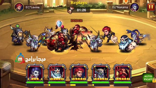 تحميل لعبة heroes charge للكمبيوتر مجانا