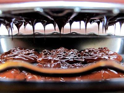 Demi-sphères au chocolat