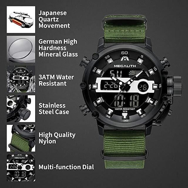 The Best Digital Sports Multifunctional Waterproof LED Watch Buying Guide