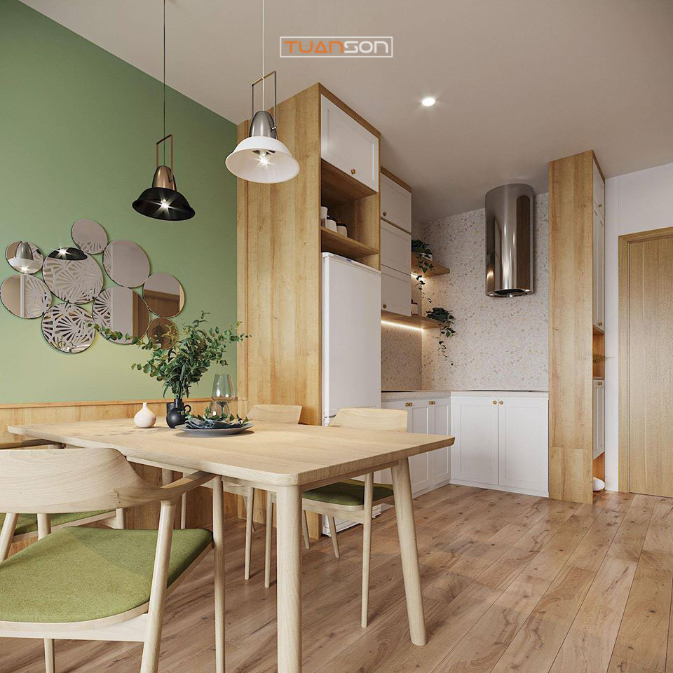 Thiết Kế Bếp Phong cách Scandinavian tối giản đẹp mắt