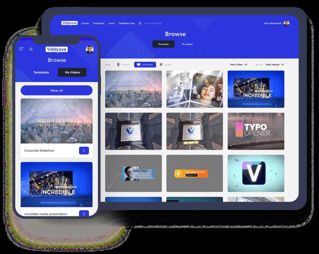 قم بإنشاء فيديو متحرك بمستوى احترافي بنفسك باستخدام Viddyoze