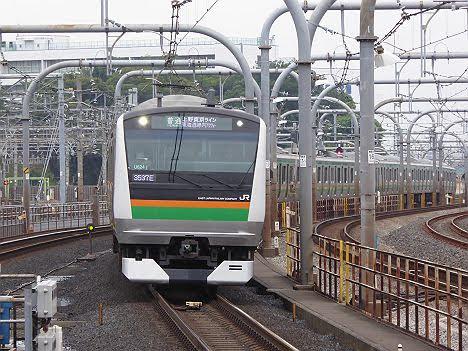 【ダイヤ改正で廃止!】上野東京ライン 東海道線内アクティーE233系